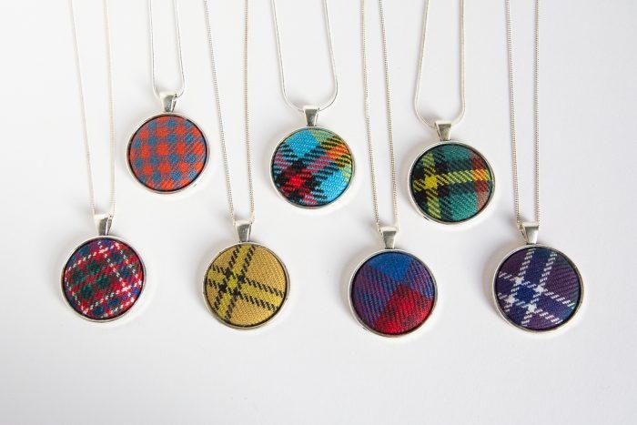 custom tartan necklaces