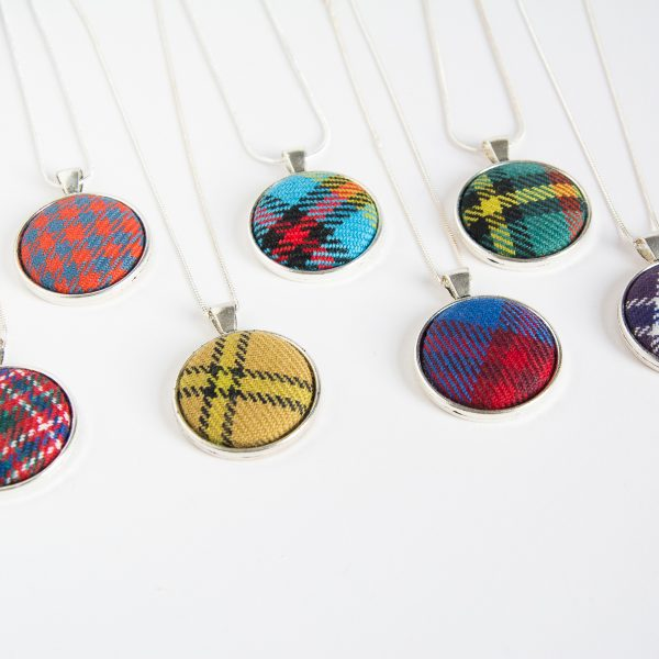 custom tartan necklaces