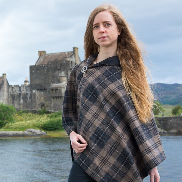 Scottish tweed cape
