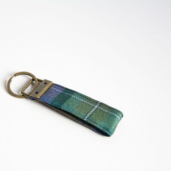 isle of Skye tartan key ring