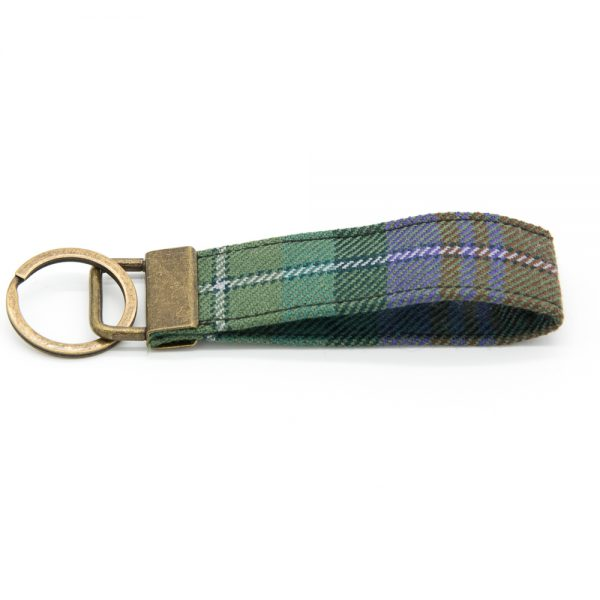 Isle of Skye tartan keyring