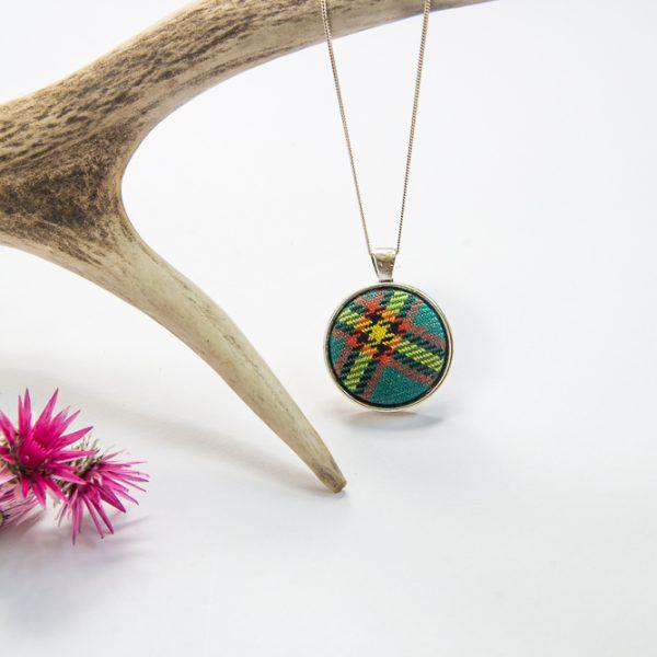MacLennan tartan necklace