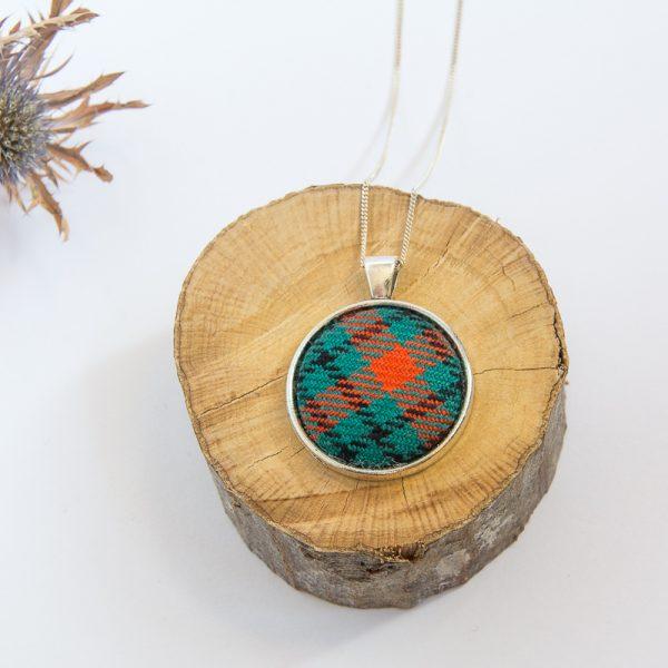 Ogilvie tartan necklace
