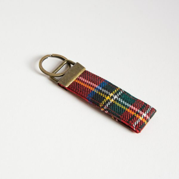 royal stewart tartan key ring