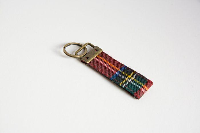 royal stewart tartan key ring