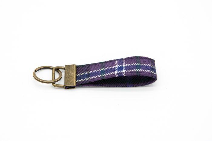 Scotland forever tartan keyring