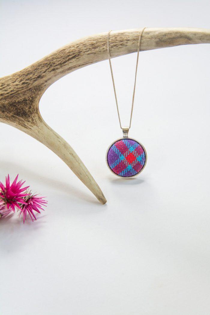 culloden tartan necklace