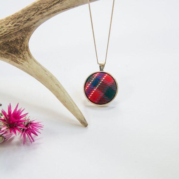 MacAlister tartan necklace