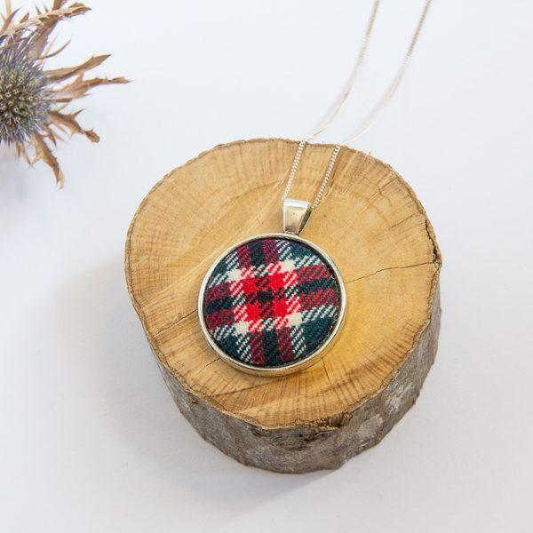 Macfarlane tartan necklace