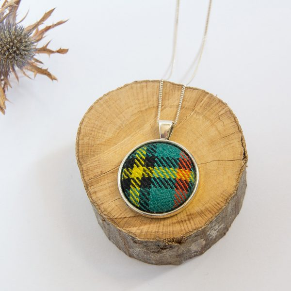 Gillies tartan necklace