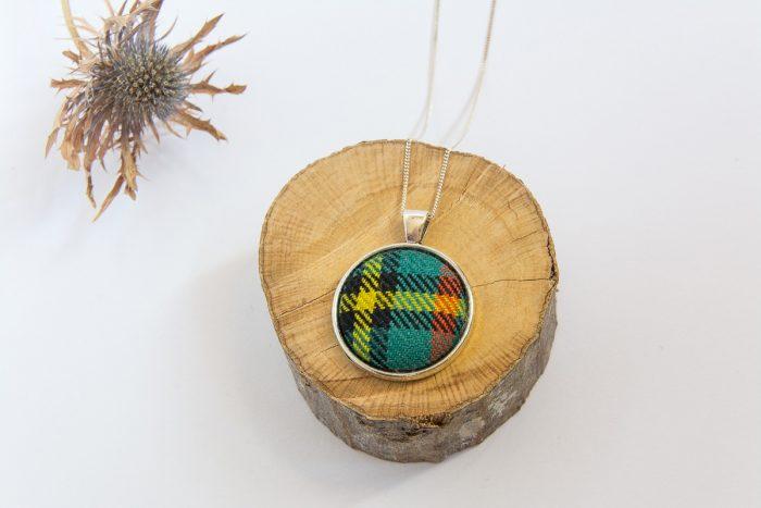 Gillies tartan necklace