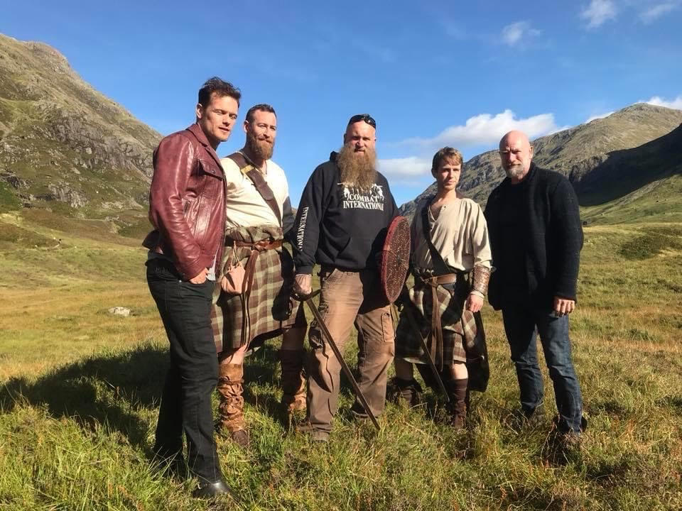 Combat international with Outlander stars Sam Heughan and Graham McTavish
