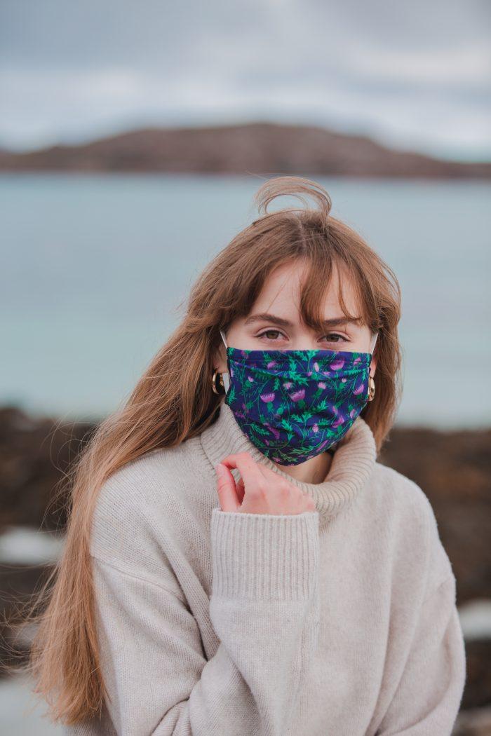 Thistle face masks - Atelier Escapades