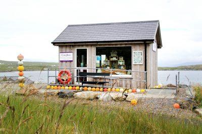 Coralbox, a unique gift shop in Berneray, North Uist