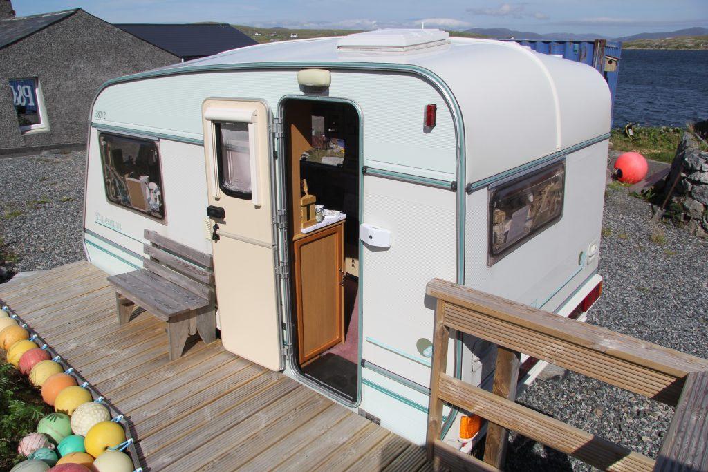 Coralbox gift shop - caravan