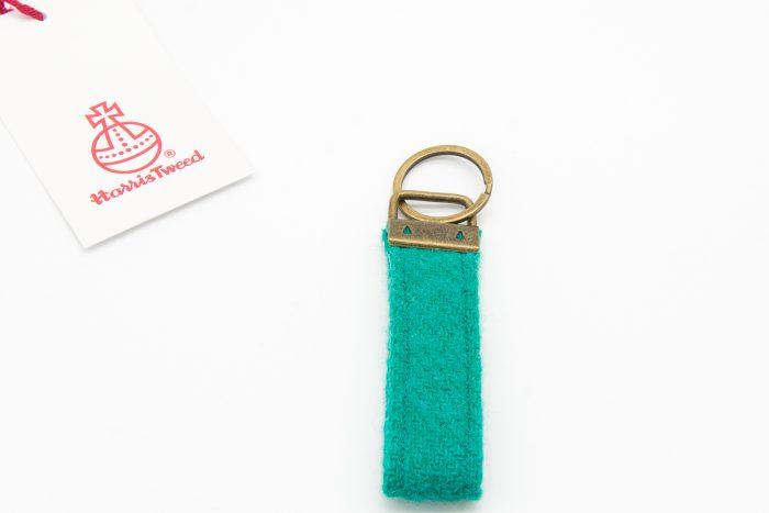 Jade Harris Tweed keyring
