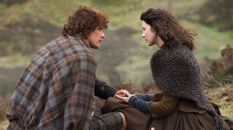 Claire and Jamie Fraser - Outlander