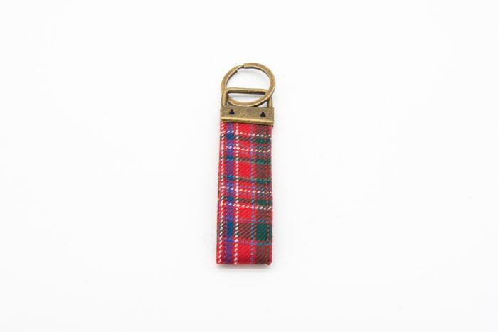 Macalister tartan key ring