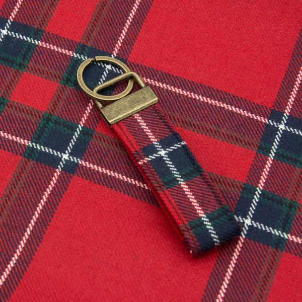 Inverness tartan keyring