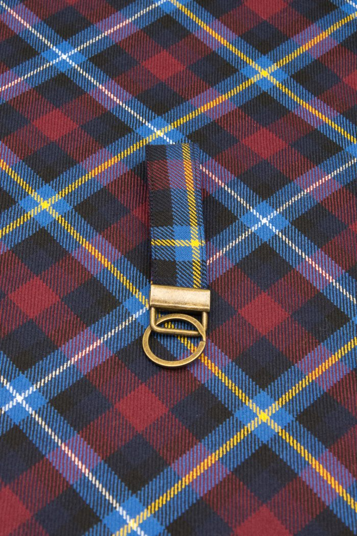 Highland Titles tartan key ring