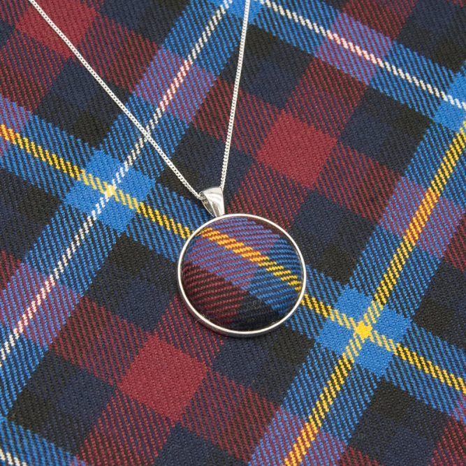 Highland titiles tartan necklace