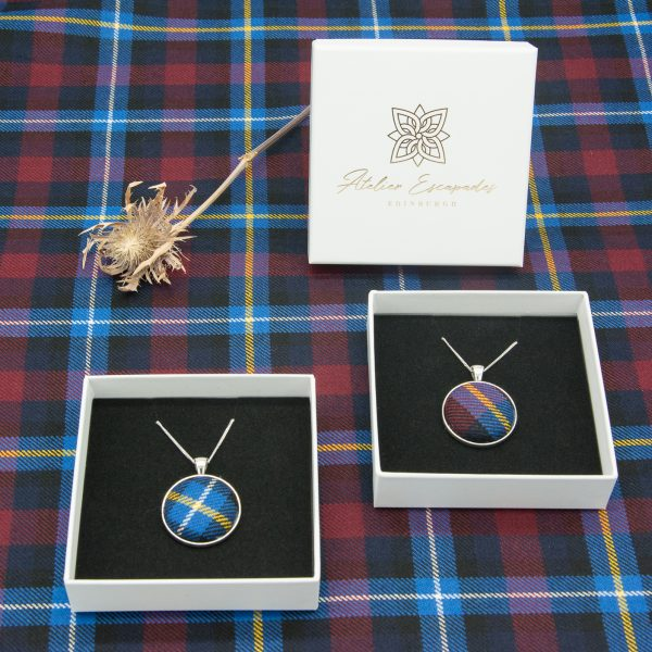 Highland titiles tartan necklace