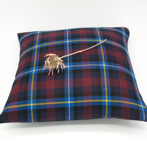 Highland Titles tartan cushion covers