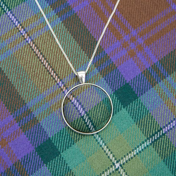 Isle of Skye tartan necklace