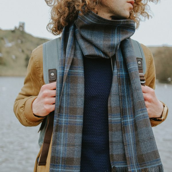 Rivers of Scotland tartan scarf