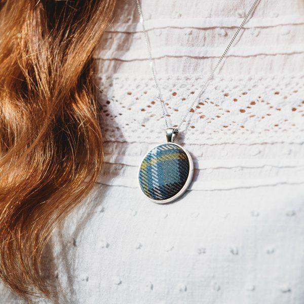 Holyrood tartan necklace