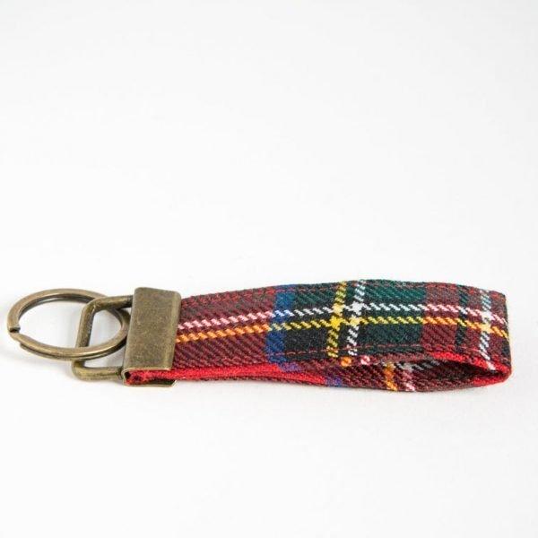Royal Stewart tartan keyring