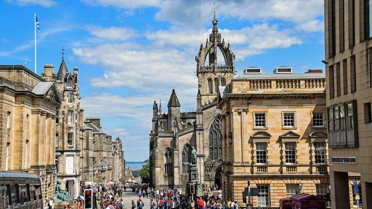 Edinburgh Royal Mile buildings