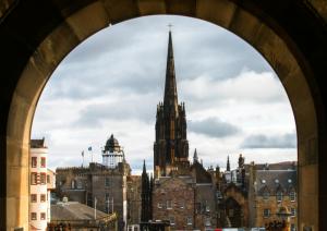 Edinburgh Old Town view