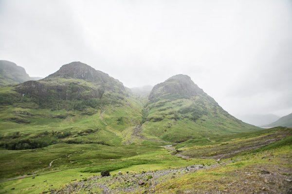 Glencoe mountains, Scottish Highlands